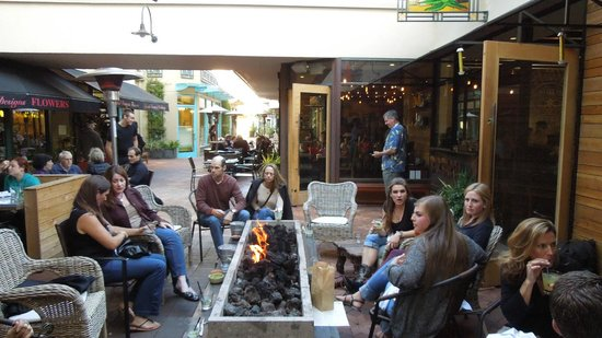 Orinda, CA: Patio with friends
