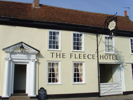 Sudbury, UK: Fleece Hotel Boxford