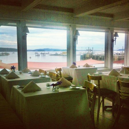 Stonington, ME: our dining room