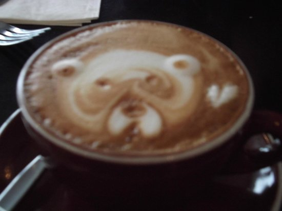 Picton, Yeni Zelanda: coffee art