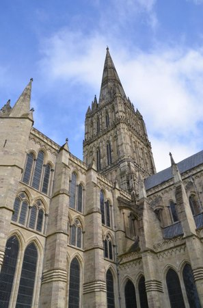Salisbury, UK: Better view of Cathedral