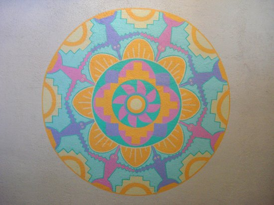 Truth or Consequences, NM: Hummingbird Mandala
