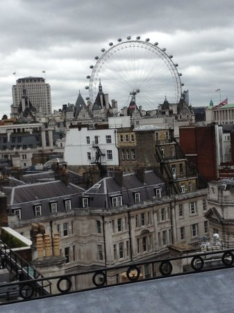 The Trafalgar Hotel: View from the Roof Restaurant