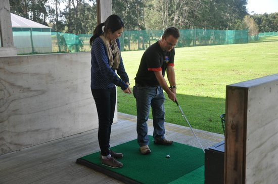 Warkworth, New Zealand: The range- golf lessons