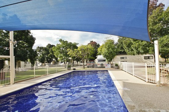 Mildura, Australien: Shadded Pool
