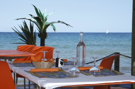 restaurant bord de mer picture of san nicolao haute. Black Bedroom Furniture Sets. Home Design Ideas