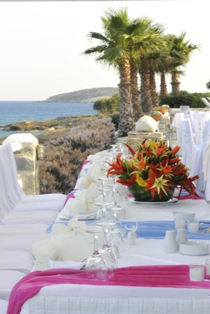 Nea Chryssi Akti, Grecia: Wedding reception