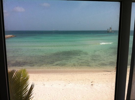 Divi Aruba Phoenix Beach Resort: View from room 924