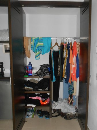Luxury Bahia Principe Sian Kaan Don Pablo Collection: Closet a bit small but worked fine