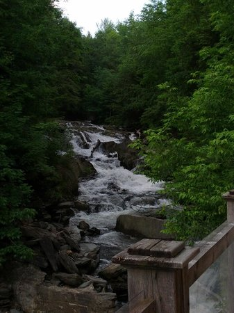 Waterbury, VT: The Waterfall at Hen of the Wood