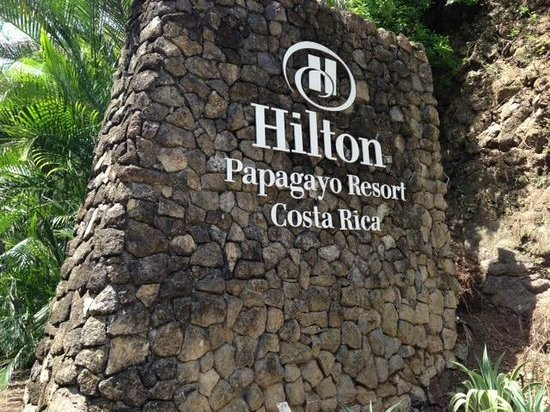 Hilton Papagayo Costa Rica Resort & Spa: At the main entrance