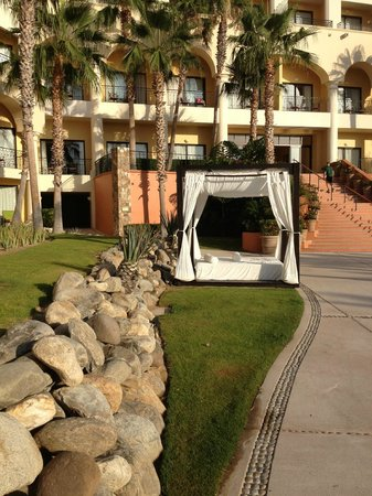 Hilton Los Cabos Beach & Golf Resort: pool beds abound