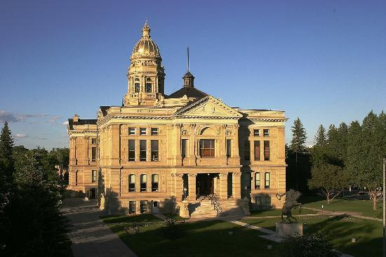 Wyoming's capitol building is always a great place to visit, with beautiful architecture, art an