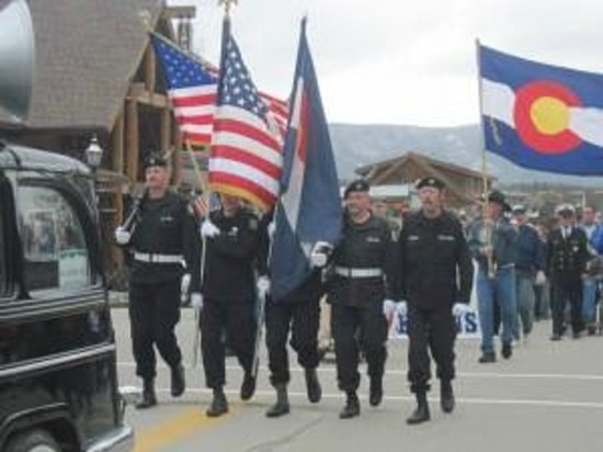 Veteran's in Grand Lake's Annual Memorial Day Parade
