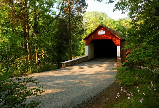 Bucks County, PA: Frankenfield Covered Bridge (Reflections by Ruth Photography)