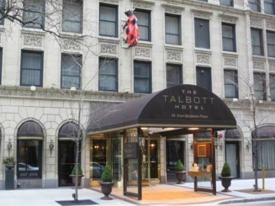Dining picture of the talbott hotel chicago tripadvisor for Talbott hotel chicago