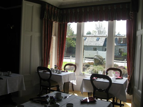 Moorfield House: The Dining Room