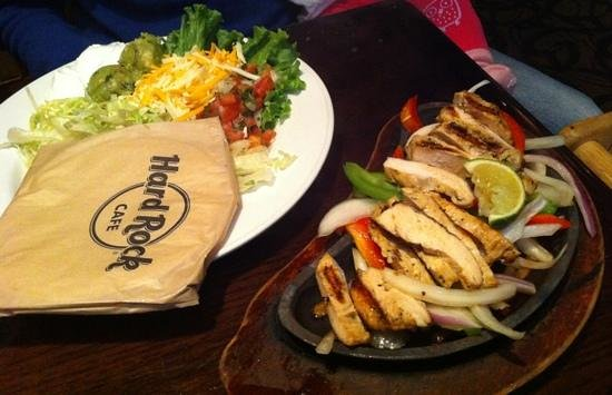 Hard Rock Cafe Fajitas