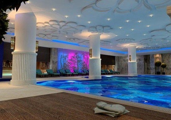 Indoor Pool Kirman Belazur Resort And Spa Belek Resmi Tripadvisor