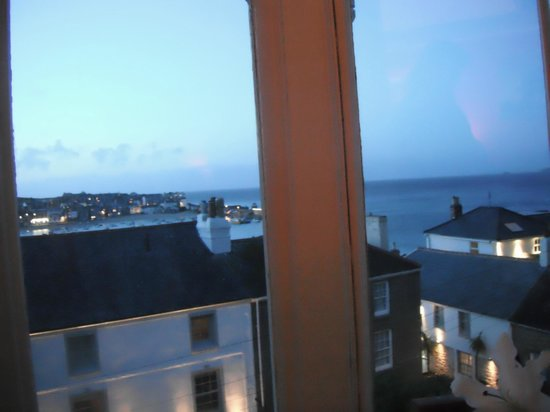 Seaforth B&B: View from the bed