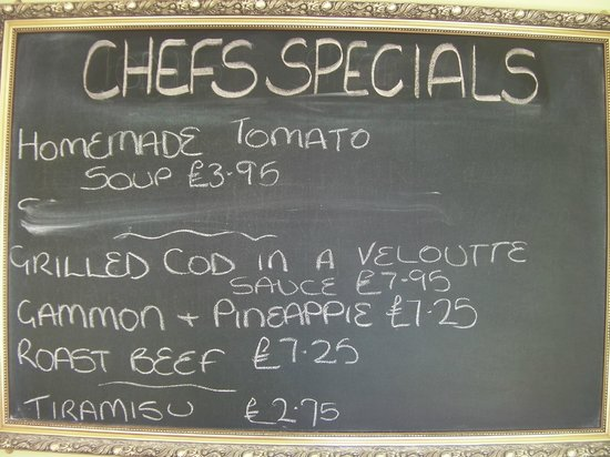 Bedford Hotel: Great chef's special....yummy :-)