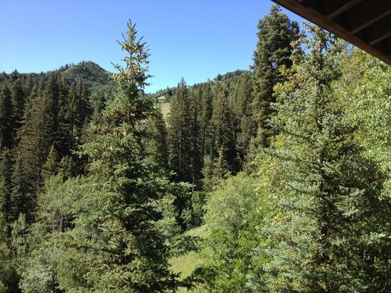 Sundance Resort: View from our Deck - are you kidding me?