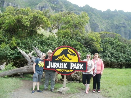 Jurassic Park Picture Of Hummer Tours Hawaii Honolulu Tripadvisor