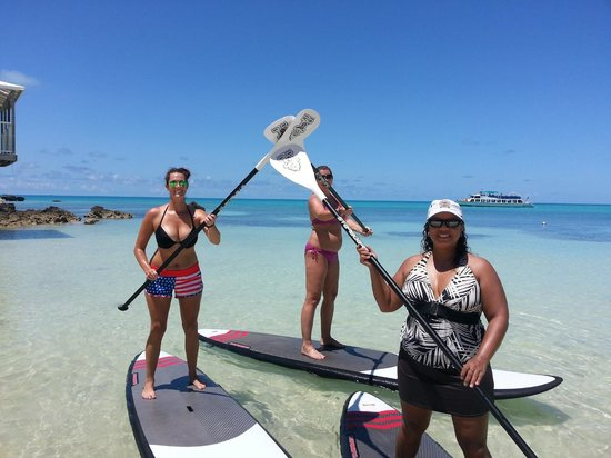 Hi 5 a great paddle day at surfsup bermuda picture of for Auberge la maison otis baie saint paul
