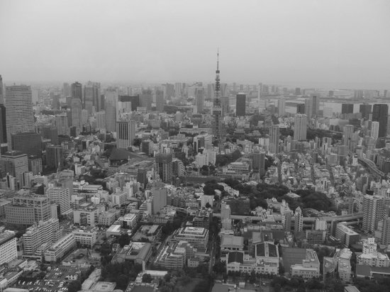 BW Tokyo Tower - Picture of Tokyo City View Observation Deck (Roppongihills),...