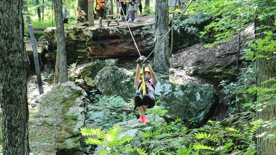 Shawnee Bluffs Canopy Tour