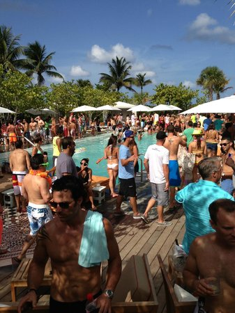 Hyde South Beach Miami Pool Party