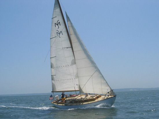 Sail Ena - Vineyard Sound Sail Charters