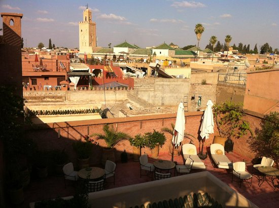 Riad Altair: View from the riad's rooftop terrace