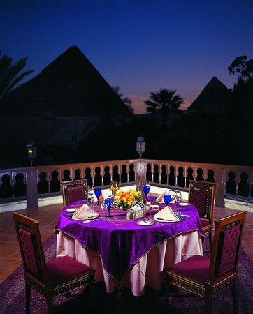 Mena House Hotel: Presidential Suite, Terrace
