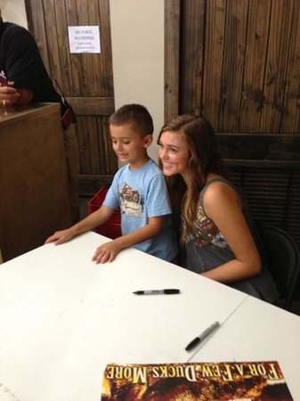 West Monroe Photo: Sadie Robertson and Dallas :)