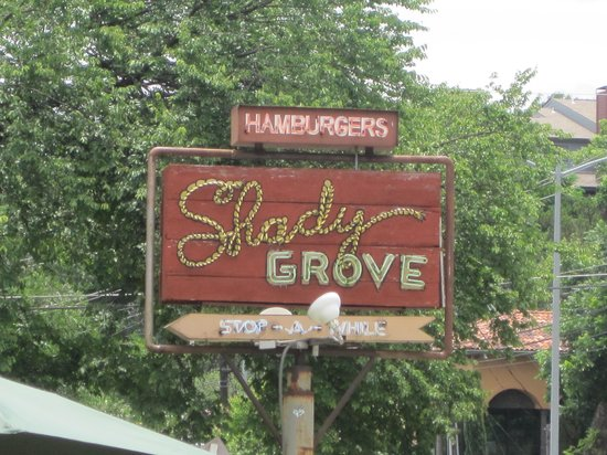 Shady Grove Sign Picture Of Shady Grove Austin