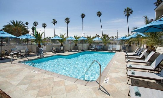 Outdoor Pool And Spa Picture Of Hilton Garden Inn Los Angeles Marina Del Rey Marina Del Rey