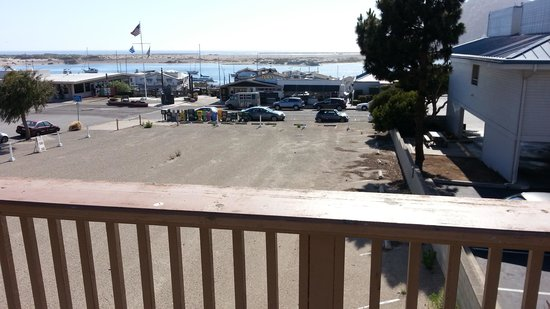 from the patio next to our room picture of sea air inn. Black Bedroom Furniture Sets. Home Design Ideas