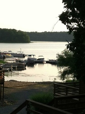 Creal Springs, IL: Our view from the chalet