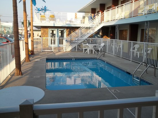 The Pool At The Boardwalk Bungalow Picture Of Blue Palms Wildwood TripAd