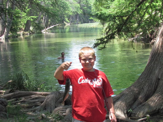 Fishing on the frio river picture of river bluff cabins for Fishing cabins in texas