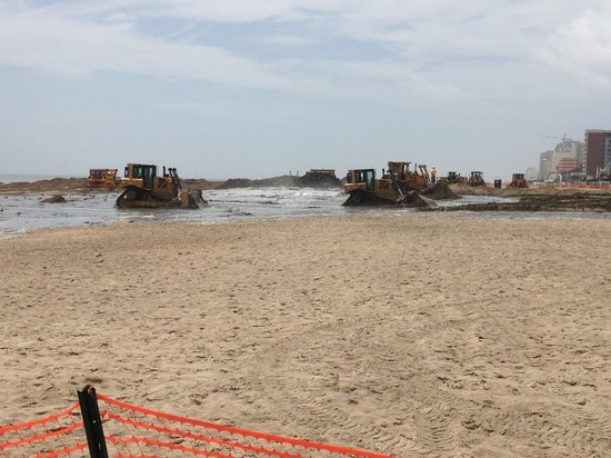 Fourth Of July Week At Virginia Beach 45th To 48th Street Beaches Blocked For Dredging Don T