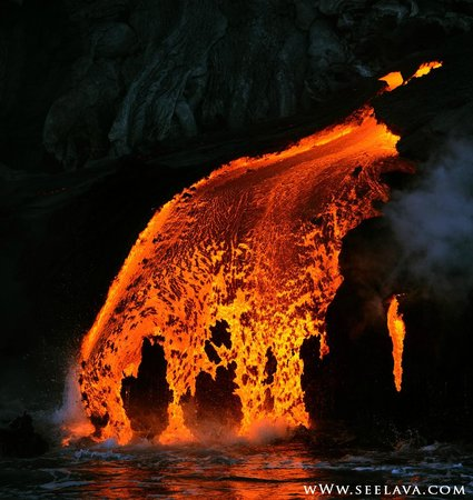 Big Island Hawaii Volcano Tours By Boat