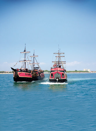 Jolly Roger - Pirate Cruise at Sea