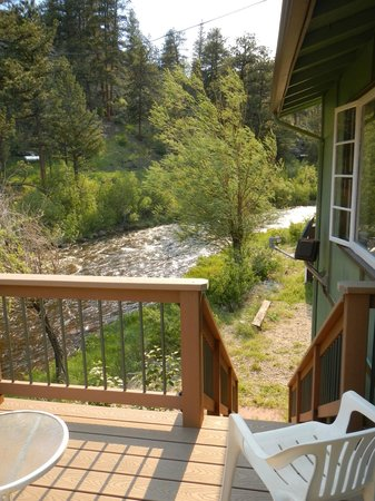 Loveland Heights Cottages: View from the balcony