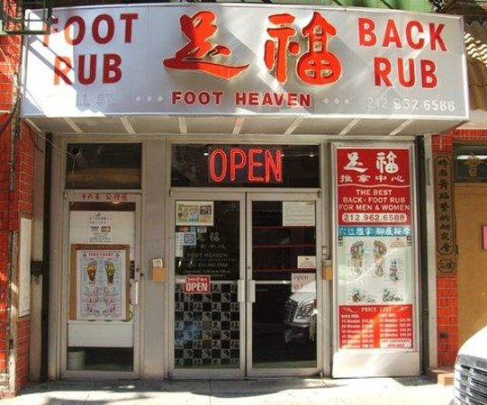 Foot heaven new york city ny address spa reviews for 24 hour salon nyc