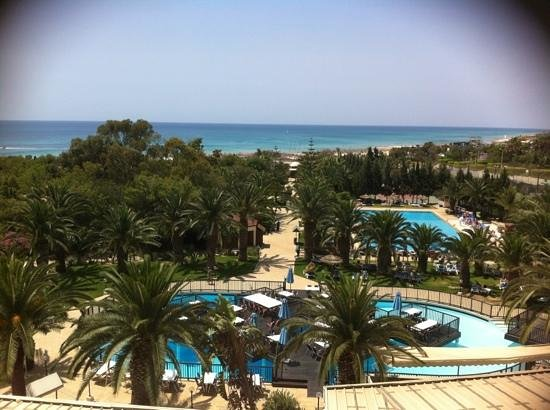 Holiday Village Manar: view from our room