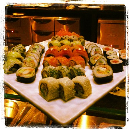 Monday sushi night picture of strata restaurant lounge for Aka japanese cuisine lounge