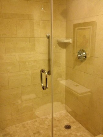 DoubleTree Suites by Hilton Hotel Columbus Downtown: Remodeled bathroom - shower