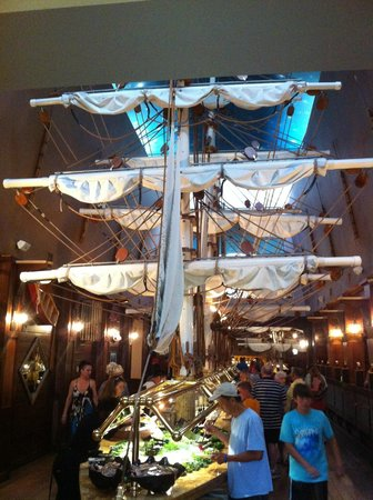 buffet picture of captain george s seafood restaurant